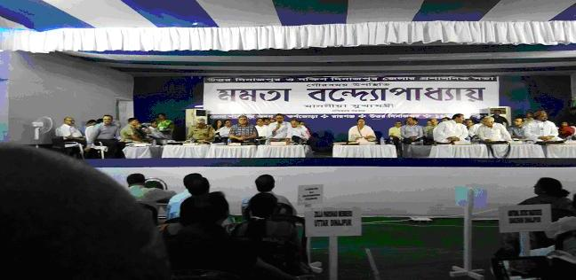 Review Meeting by Hon'ble CM at Karnajora on 16/06/2015